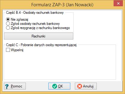 Wystawianie deklaracji podatkowych ZAP-3 dla właścicieli i pracowników firmy